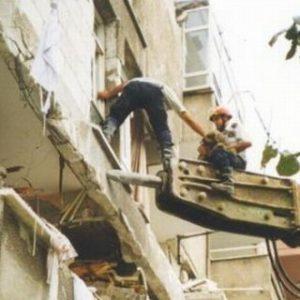 Jaime Parejo interviniendo en terremoto Turquía