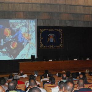 Jaime Parejo impartiendo Conferencia Magistral en España