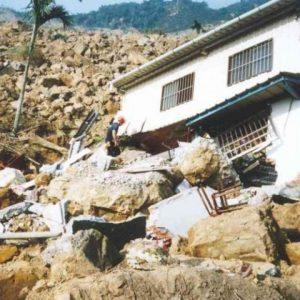 Unidad Canina Método Arcón interviniendo en deslizamiento de tierra tras terremoto Taiwan
