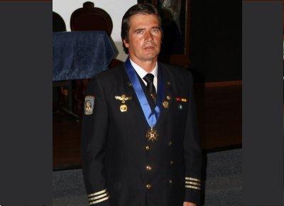 La Policía de Caracas, Venezuela, galardonó a Jaime Parejo