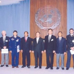 La ONU galardonó a Jaime Parejo