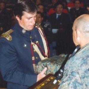 El Ejército de Ecuador y la  Universidad de las Fuerzas Armadas ESPE galardonaron a Jaime Parejo