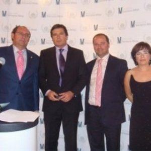 El Ilustre Colegio de Veterinarios de Málaga, España, galardonó a Jaime Parejo