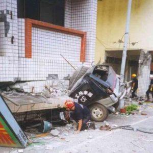 Unidad Canina Método Arcón interviniendo en confinamiento tras terremoto Taiwan