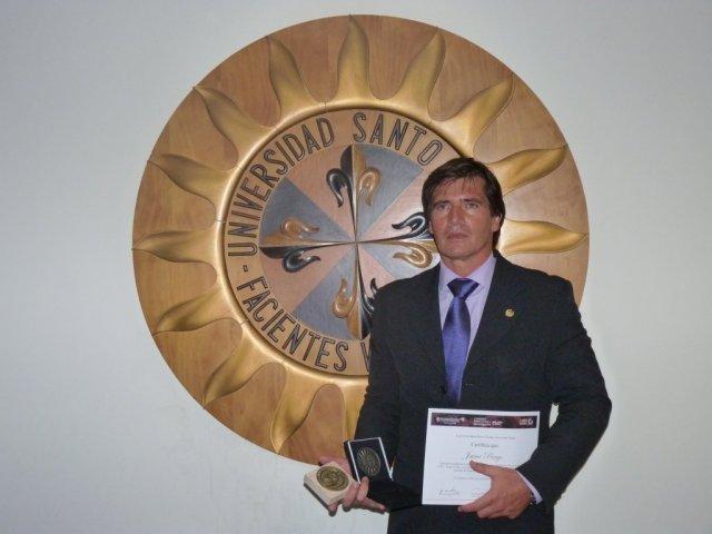 La Universidad de Santo Tomás otorga un importante galardón internacional al investigador español Jaime Parejo